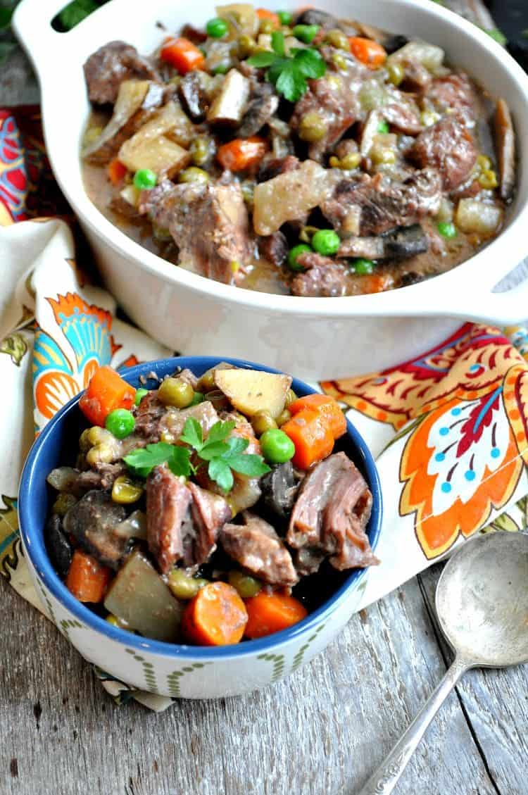 Dump and Bake Beef Stew 4