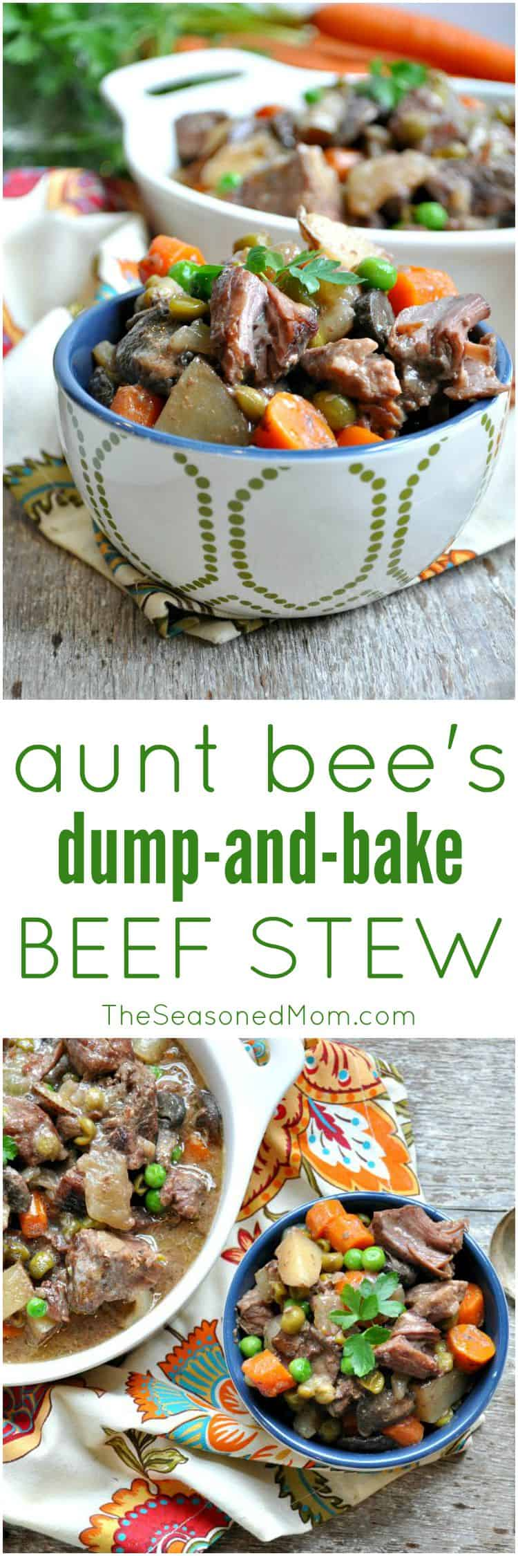 Dump and Bake Beef Stew