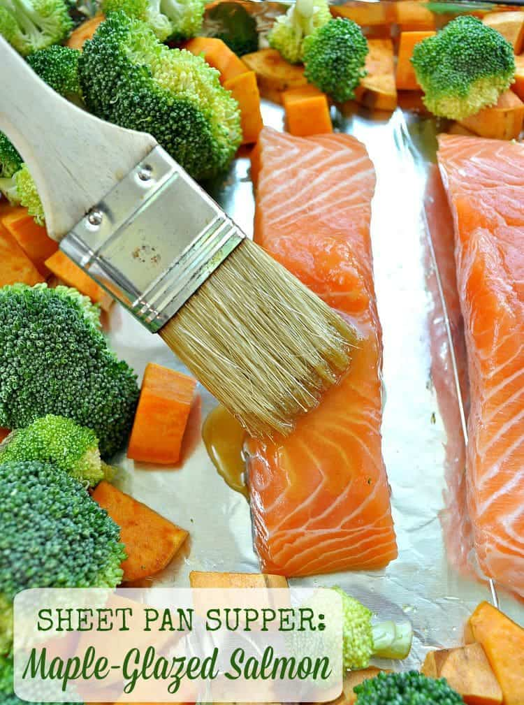 Sheet Pan Salmon TEXT