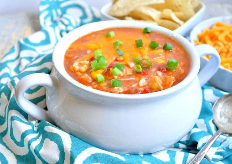 Shortcut Mexican Chicken and Rice Soup 5