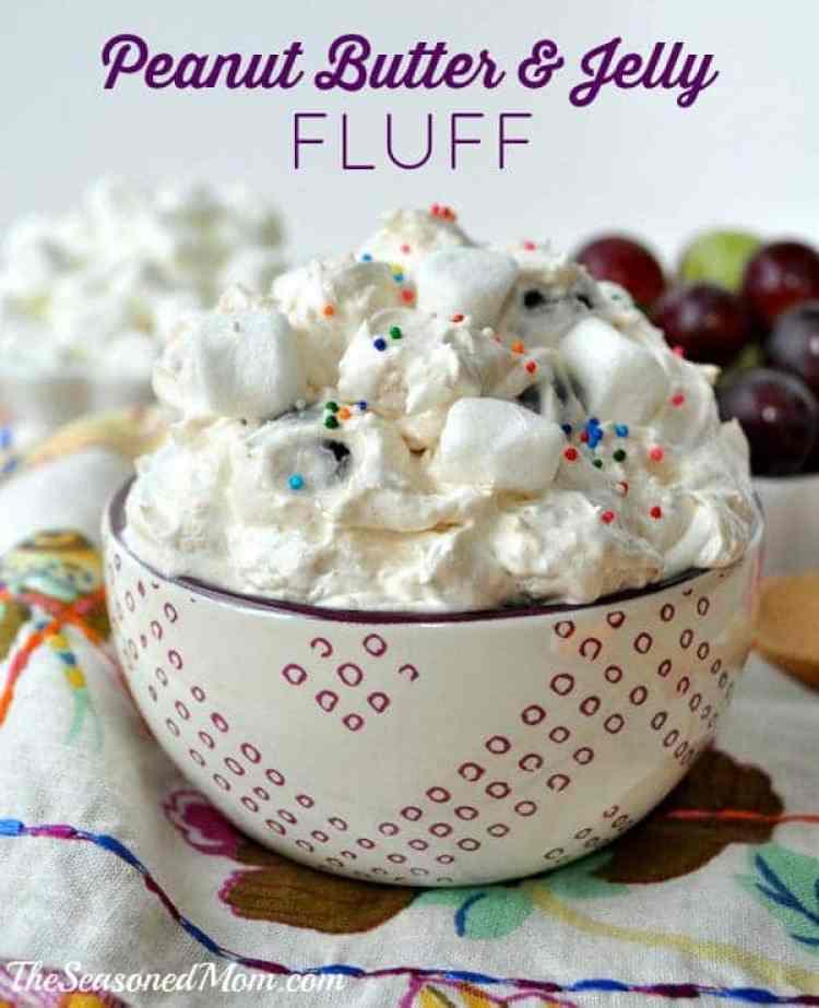 PB&J Fluff Dessert
