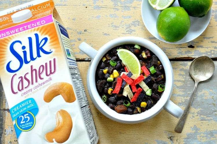 Slow Cooker Southwestern Black Bean Soup 9