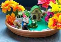 Indoor Fairy Garden: An Easy Craft for Kids - The Seasoned Mom