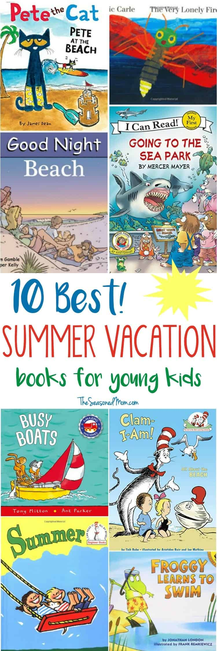Summer Vacation Books for Young Kids