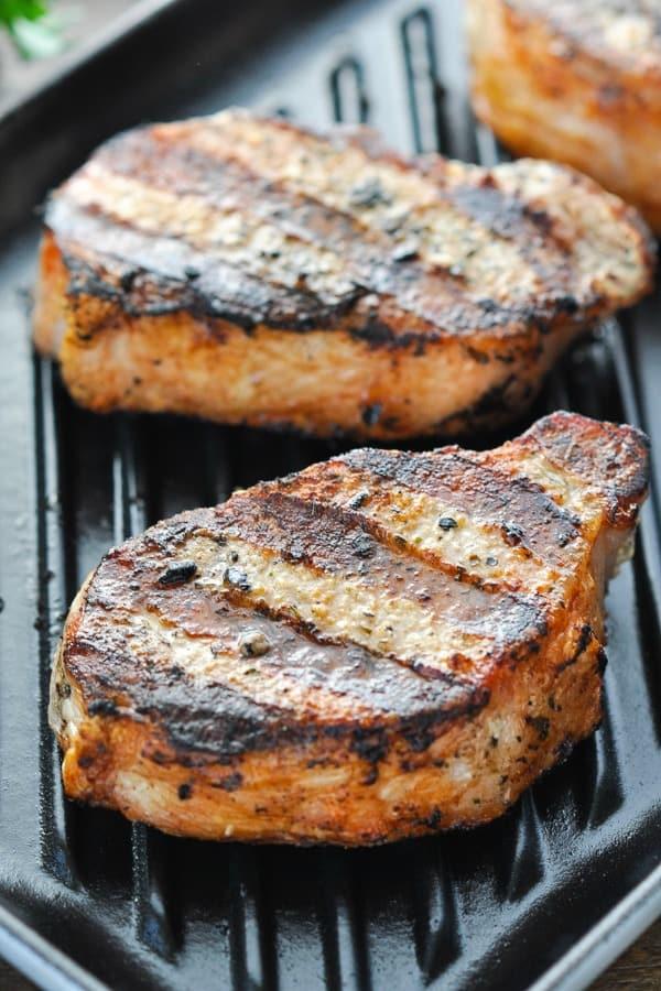 Recipe Center Cut Rib Pork Chops : recipe, center, chops, Perfect, 15-Minute, Grilled, Chops, Seasoned
