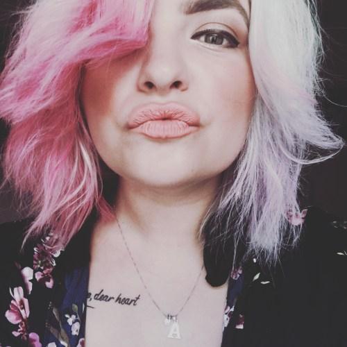 Pastel Hair using Hair Chalk - Seasonsofapril