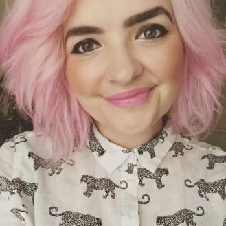 Pink Candy Floss Hair using Hair Chalk - Seasonsofapril