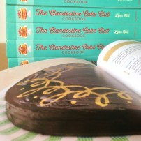 Sachertorte with chocolate orange icing, Fionnuala Lawes