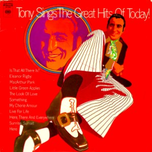 tony sings the great hits of today