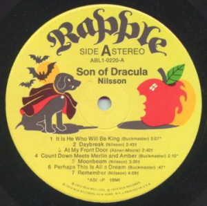 lp son of dracula rapple label1