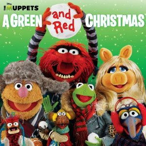muppets green and red