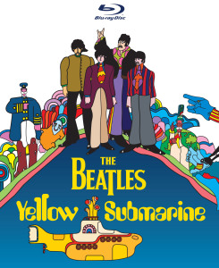 the beatles yellow submarine blu ray cover art