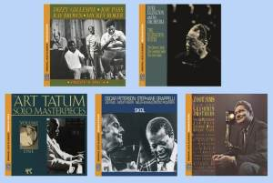 Review: Pablo 40th Anniversary Series with Gillespie, Ellington, Tatum, Peterson, Grappelli and Sims