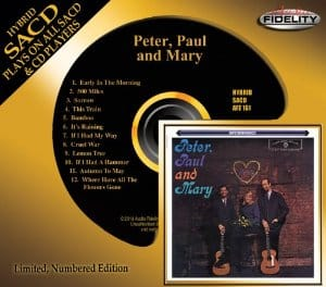 Peter Paul and Mary SACD