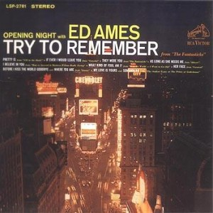 Ed Ames - Opening Night