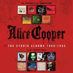 Alice Cooper - Studio Albums