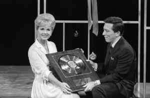 Andy Williams and Debbie Reynolds