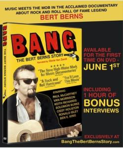 "Piece of His Heart: ""Bang: The Bert Berns Story"" Arrives On DVD"