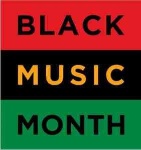 Black Music Month Banner