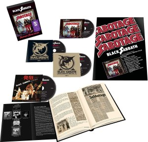 Black Sabbath Sabotage Box