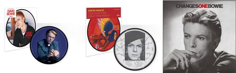 Bowie Reissues - April and May 2016