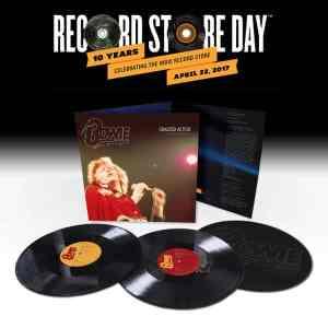 David Bowie Cracked Actor LP