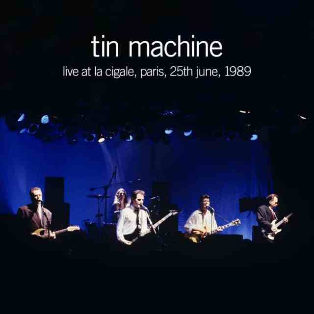 Heaven in Here: Rare Live Tracks From Bowie's Tin Machine Collected on Digital Album