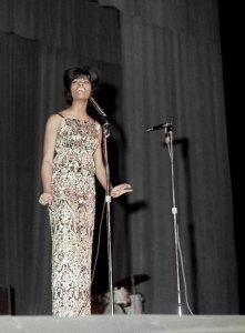 Dionne Warwick at the Brooklyn Fox Theatre