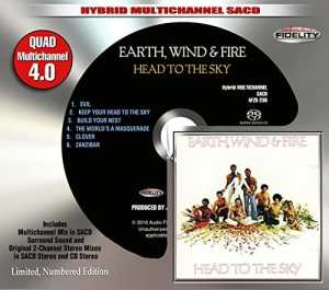 Earth Wind and Fire - Head to the Sky