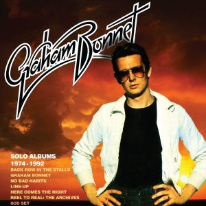 Graham Bonnet Solo Albums Box