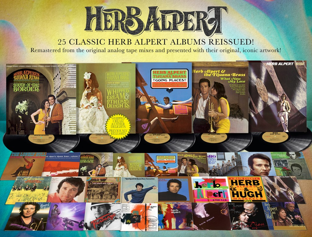 A Taste Of Honey 25 Herb Alpert Albums Come To CD On September 9