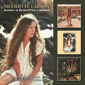 Nicolette Larson - BGO Three-Fer