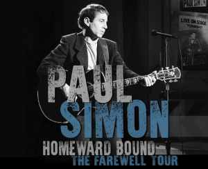 Paul Simon Homeward Bound Farewell Tour