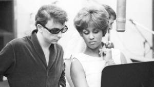 Phil Spector and Darlene Love