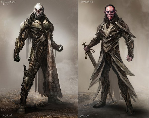 Thor Dark World Character Design Marauders