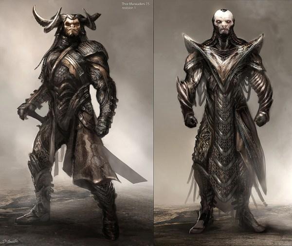 Thor Dark World Character Design Marauders