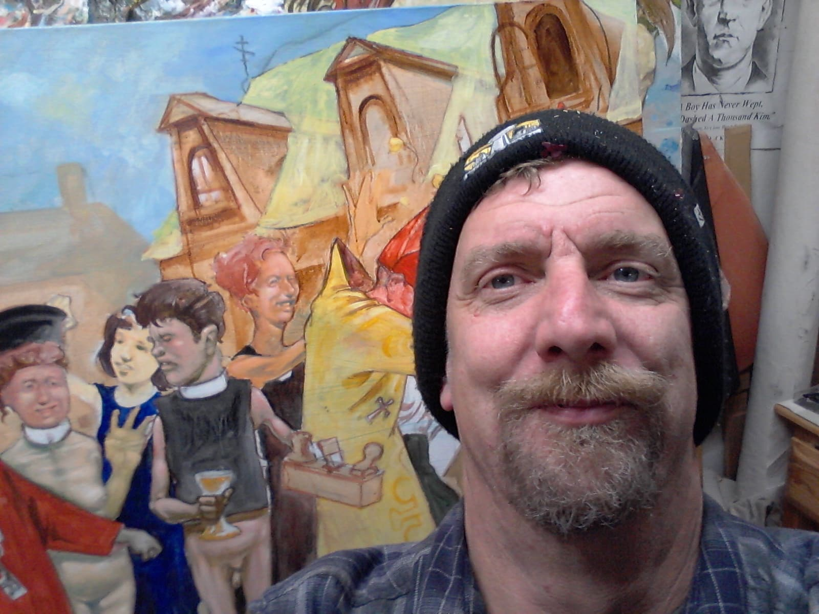 3 Years in the Art Cave - Recent works by Sam Vaughan