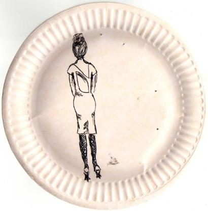 TheSecretCostumier - Sketch of a dress