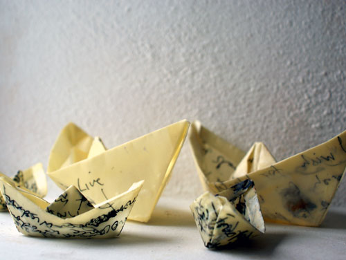 messages in paper boats