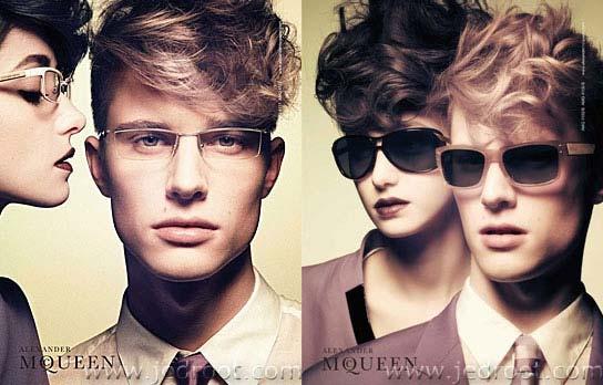 McQueen Eyewear Advertising