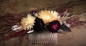 Bridal Flower Hair Slide