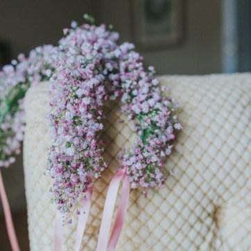 Baby's Breath Flower Crowns