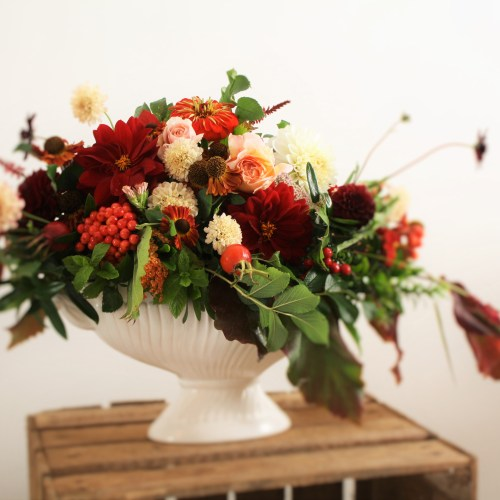 Autumn Flower Arrangement