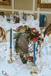 Travel Themed Table Setting