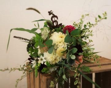 late summer garden bouquet