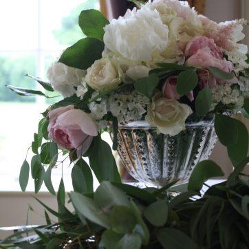 Table Flowers Civil Ceremony