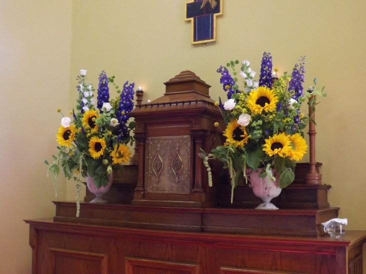 sunflower tabernacle flowers