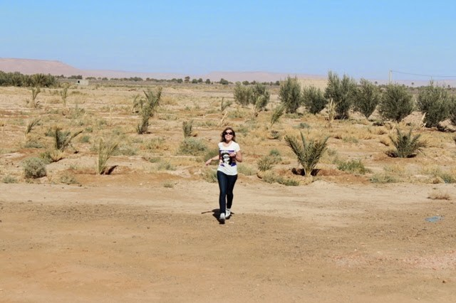 Traveling in South Morocco