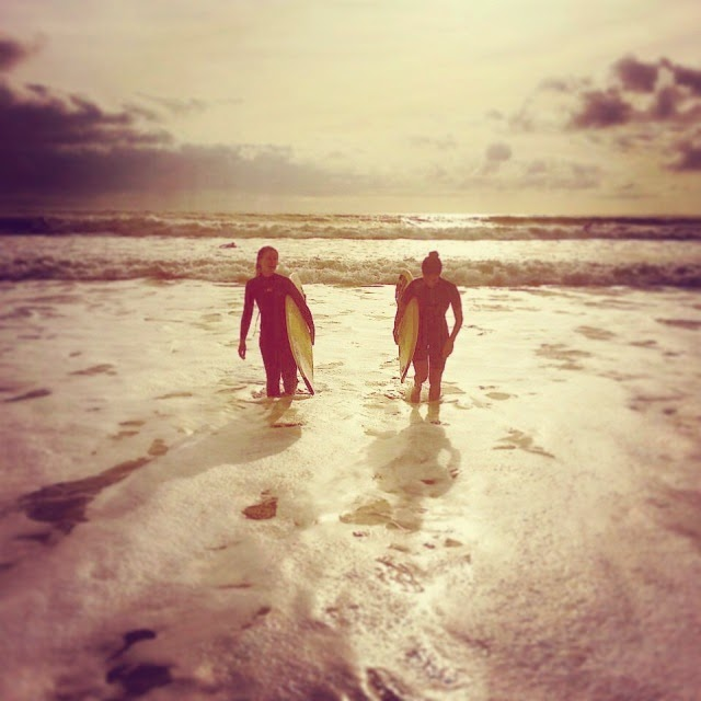 #surf #surfing #girls #waves #ocean #lifestyle #cool #nature #outdoor #France #vendée