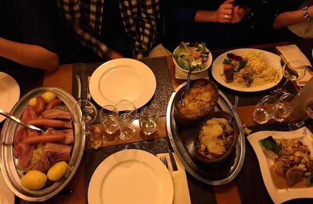 Choucroute et Baeckeoffe cuisine alsacienne